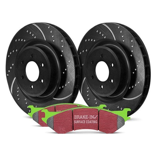 EBC® - Stage 3 Truck and SUV Dimpled and Slotted Brake Kit